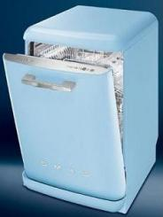 Smeg retro style dishwasher